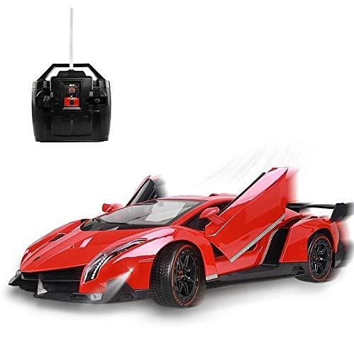 PETRLOY Vehículo de deriva rápida Recargable RC Stunt Car Buggy eléctrico de...