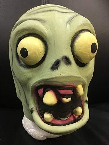 Wrestling Zombie Desde Plants vs Zombies - Látex Natural Estilo Máscara - Universal...