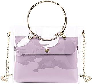 حقيبة للنساء-بنفسجي - حقائب الكتف