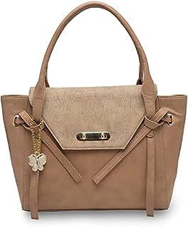 Butterflies Women Handbag (Peach) (BNS 0770PCH)