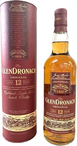 The GlenDronach - Original - 12 Jahre - Highland Single Malt Scotch Whisky - 43% Vol. (1 x 0.7 L) / Es sind die Sherryfässer, die ihn so besonders machen.