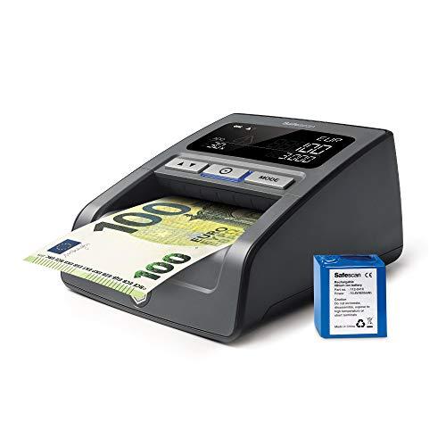 Safescan 155-SX | Controleert oude en nieuwe eurobiljetten | 7-voudige detectie | Inclusief oplaadbare batterij