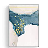 綺麗な 装飾的な絵画抽象大気リビングルームの絵画現代のミニマリストのソファ背景壁画 パーフェクト (Color : C, Size : 53*73cm)