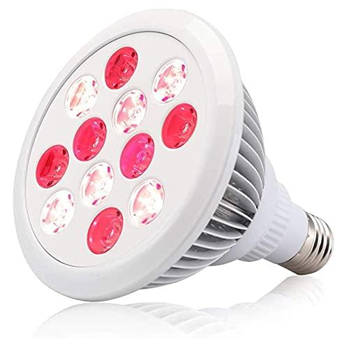 Lámpara De Tratamiento De Luz Roja, Aparato De Terapia Infrarroja LED De 24 W, Luz Roja De 660 NM Y Terapia Infrarroja LED Combinada De 850 NM