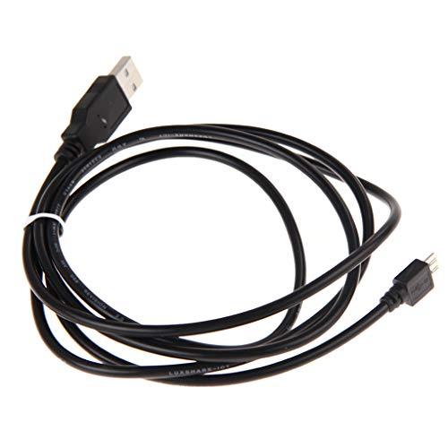 teng hong hui 1.5 Medidor Negro Cable de Carga Micro USB Cable de Cable de Puerto USB Controlador Cable de reemplazo para Playstation 4 regulador del Juego