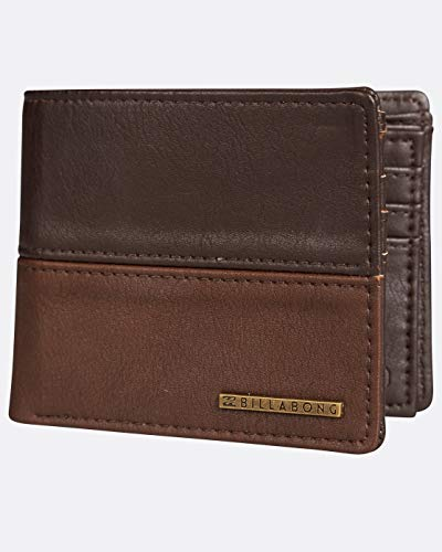 Billabong 2018 Monedero, 1 cm, Marrón