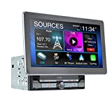 Jensen CAR10 10-inch Capacitive LCD Digital Multimedia Adjustable Touch Screen Double DIN Car Stereo | Apple...