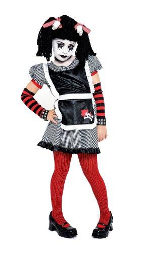 Gothic Ragdoll Costume, Small (4/6)