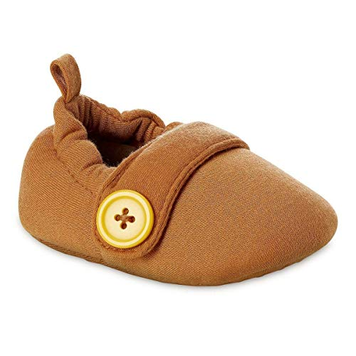 Pinocchio Baby Costume Dress Up Soft Shoes (6-12M) Brown