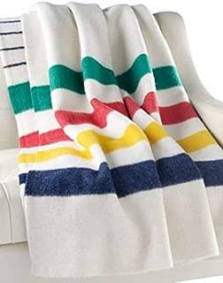 Hudson's Bay Company Iconic Multi Stripe Point Blanket,  king size 8 points