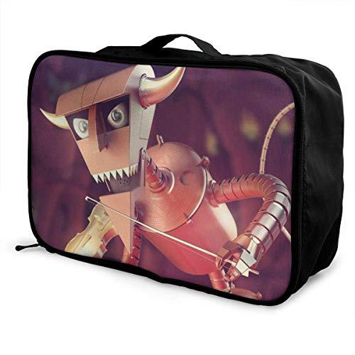 Devil t Travel Lage Duffel Bag ligero maleta portátil Bolsas para mujeres hombres niños impermeable gran capacidad bapa