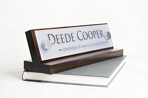 Personalized Desk Name Plate - makes a great Co-Worker Gift