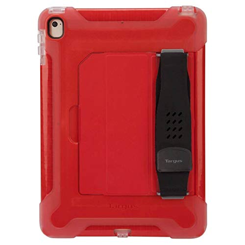 Targus SafePort Robuste Schutzhülle für iPad (2017/2018), iPad Pro und iPad Air 2, 24,6 cm (9,7 Zoll), Rot (THD13503GLZ) rot