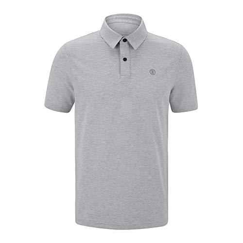 Bogner Man Timo Light Grey - Poloshirt, Größe_Bekleidung:XXL, Farbe:Light Grey
