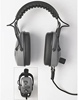 Detectorpro Gray Ghost Ultimate Metal Detector Headphones