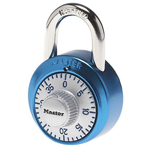 Master Lock 1561DAST Locker Lock Combination Padlock, 1 Pack, Assorted Colors