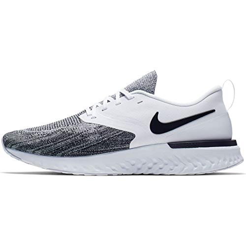 Nike Men's Track & Field Shoes, White White Black 000, 8 UK