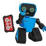 MXECO Cute RC Intelligent Robot Toy Grabación interactiva activada por voz Sing Dance Storytelling RC Robot Toy Kids Gift Verde (Verde)