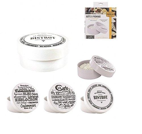 Boîte Boite à Fromage Camembert en Céramique - Modèle Aléatoire - Barbecue Micro-ondes Apéro Four - 583