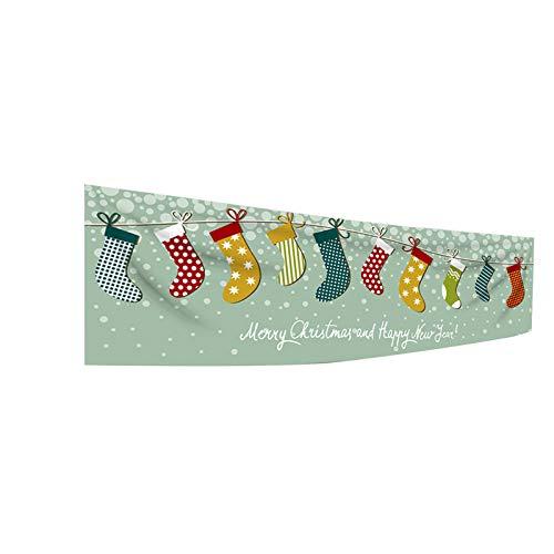 BBQQ Banner Decoración de fondo de tela para tienda de mercadía, decoración de Navidad, árbol de Navidad, decoración de árbol de Navidad, decoración de fiesta, decoración para la familia