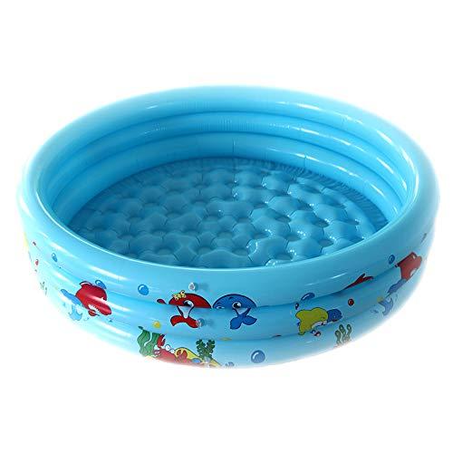 AeasyG Outdoor Indoor Kiddie Pool Schlauchboote, 3 Ringe Kreise Swimmingpool Schlauchboote für Kinder, Baby Pool Float für Garten Hinterhof