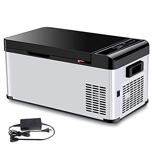 H.Slay Caja de enfriamiento de 27.2L Control de aplicación de Mini refrigerador portátil Congelador eléctrico Congelador pequeño -25 ℃ 20 ℃, se Puede almacenar en frío Cuando se apaga