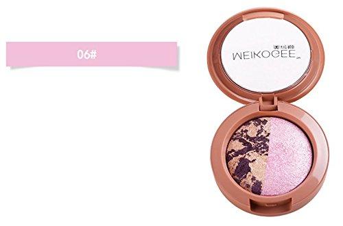 Yurin Spezielles Design für Zuhause Professionelle Make-up Glitter Schimmernde Farben gebackene...