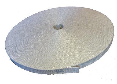 Mini Rolladengurt 14 mm grau 50 Meter Rolle original ROLATEC