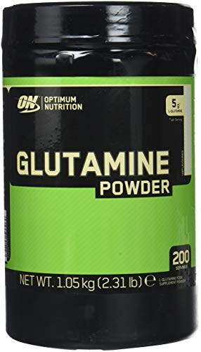 Optimum Nutrition Glutamine - non aromatisé, 120 Portions - Glutamine poudre, 630 g