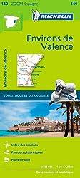 Carte Michelin de la ville de Valence Accès librairie