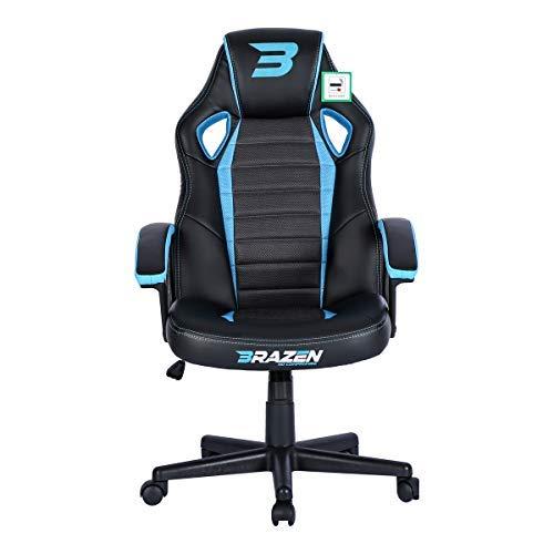 BraZen Salute PC Gaming Chair - Blue