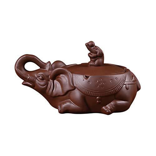 FEANG Adornos de cerámica con Tapa cenicero Creativo Elefante Gran salón Regalos...