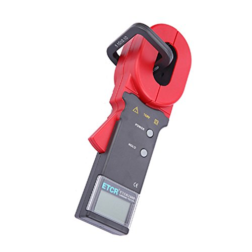 AIYU-MAOYI Digital Clamp Meter for Measuring Earth Resistance and Leakage Current ETCR2000