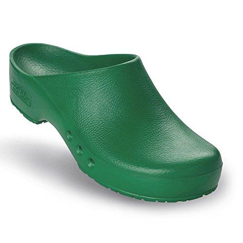 Chiroclogs Special OP-Schuhe, Unisex, Farbe: Grün, Größe 43