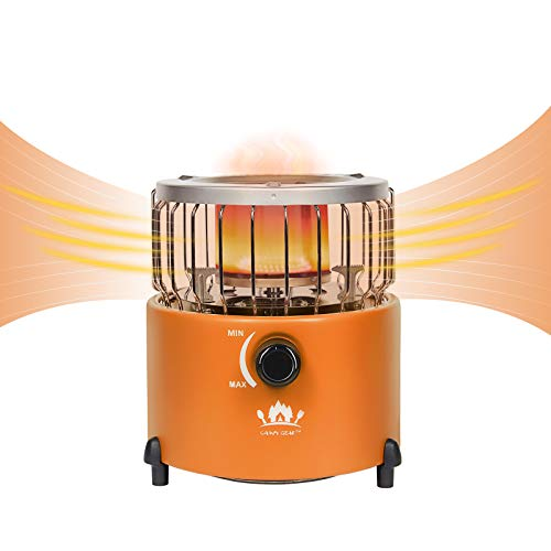 Campy Gear 2 in 1 Portable Propane Heater & Stove