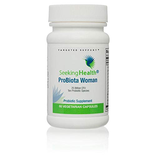 Probiota Woman | 10 Probiotic Species | 60 Easy-to-Swallow Vegetarian Capsules