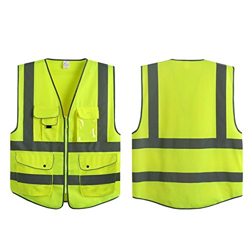 G & F Products Reflective strips Construction Safety Vest