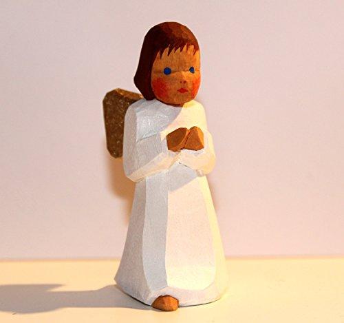 Engel stehend braune Haare von Lotte Sievers-Hahn Krippenfiguren