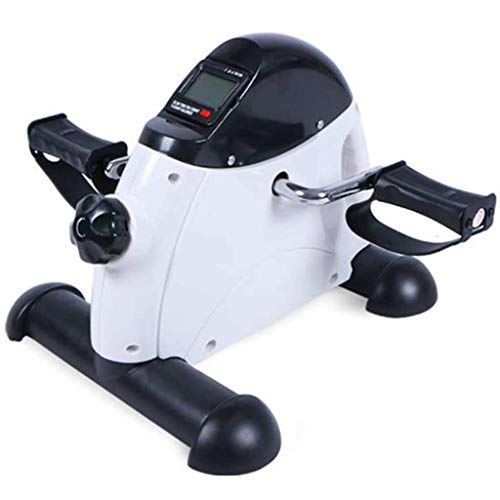 HYYK Mini Bicicleta de Ejercicios portátil, Bicicleta de Ejercicio con Pedal para Entrenamiento de piernas con Pantalla LED, Equipo de Entrenamiento de rehabilitación de extremidades Superiores e