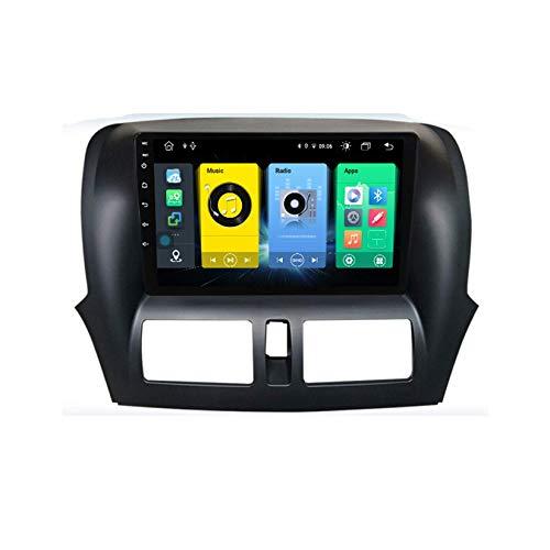 Android Car Stereo Radio Double Din Sat Nav Compatible con Faw Besturn X80 2013 2014-2016 Navegación GPS Reproductor multimedia con pantalla táctil de 9 pulgadas Receptor de video con 4G DSP Carplay
