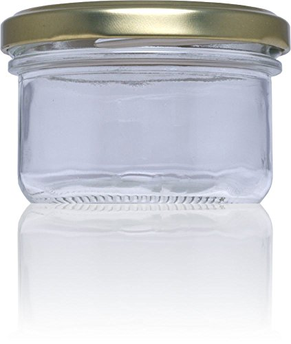 Rioja S.L Pate Deksels en Containers 120 ml Glazen Fles, Transparant