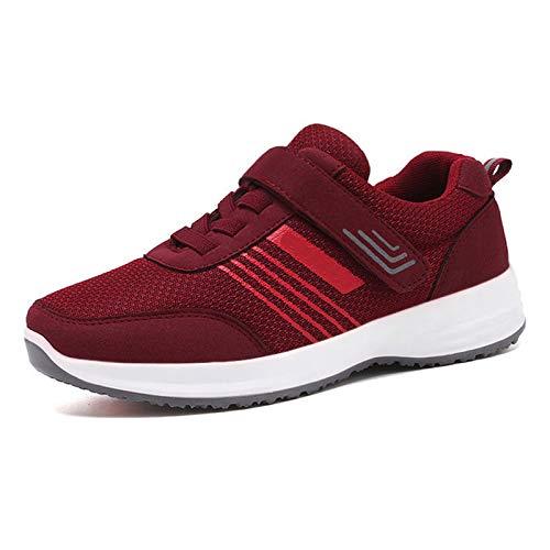 JMAR Zapatillas para Hombre para Mujer Zapatillas para Correr, Zapatillas para Correr con Suela Blanda, Que Se Utilizan para Viajes De Personas Mayores, Deportes Al Aire Libre, Caminar, Bailar