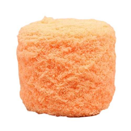 cute100% Handgewebter DIY Korallen Fleece Baby Schal Faden Dicken Faden