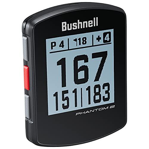Bushnell Phantom 2 GPS DE Golf, Adultos Unisex, Negro, Talla Unica