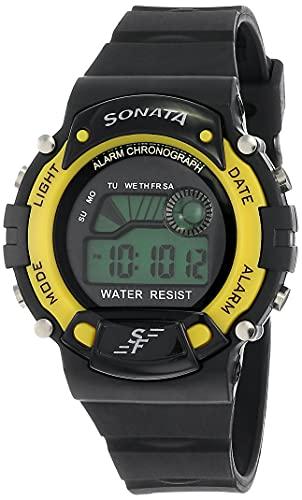 SF Venus Digital Digital Grey Round Dial Men's Casual Watch-NM7982PP01