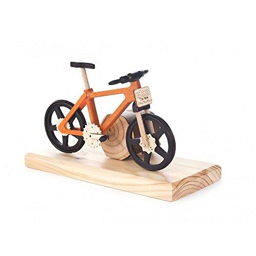 Dregeno Erzgebirge - Räucherfahrrad Mountainbike orange