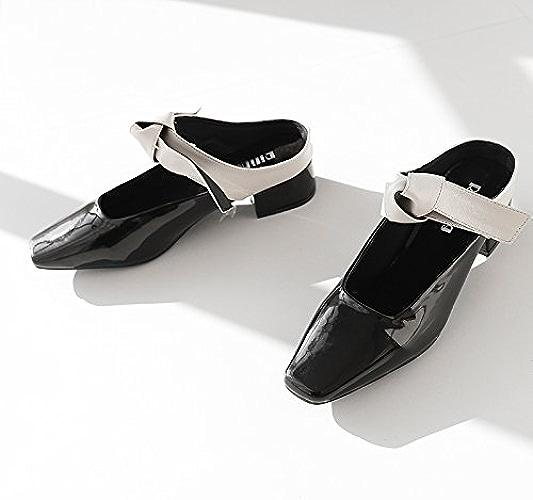 Qingchunhuangtang@ De gros Chaussons Sandales Chaussures Baotou paresseux