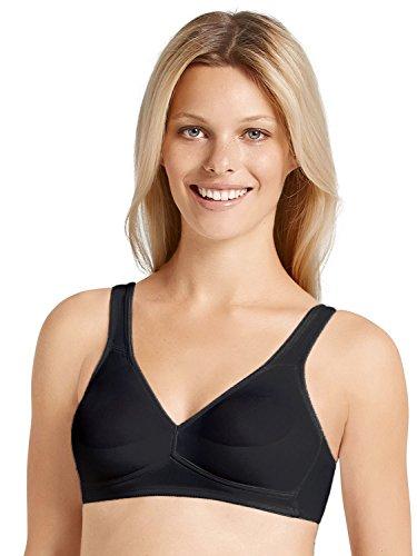 ANITA 5168 - Soutien-gorge spécial maternité - Emboîtant - Uni - Femme - Noir - 105E (Taille fabricant: 105E)