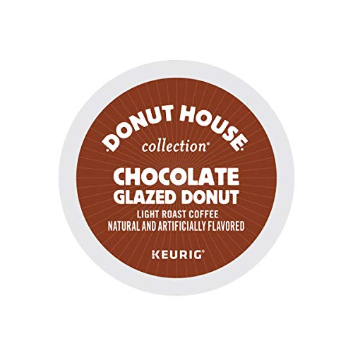 Donut House Chocolate Glazed Donut Coffee 48 K-Cups for Keurig Brewers