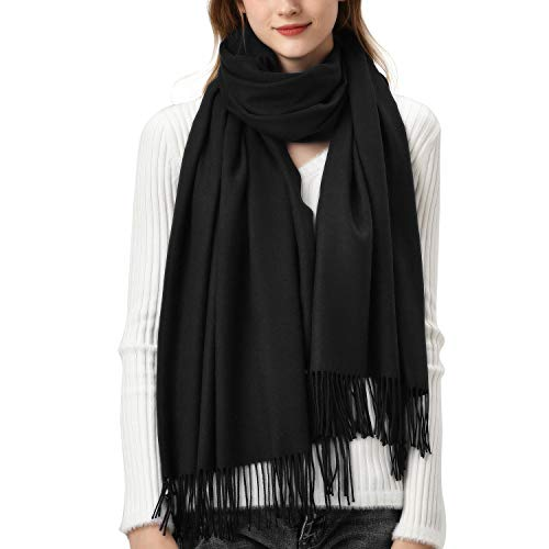 Womens Winter Scarf Cashmere Fee...